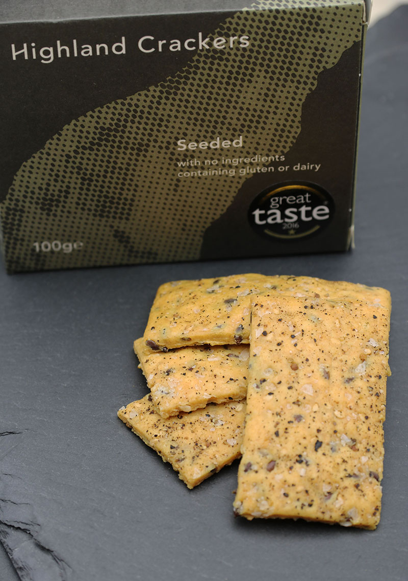 Highland Crackers Seeded Cracker 100g