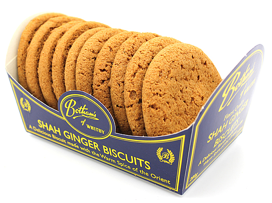 Bothams Shah Ginger Biscuits 200g