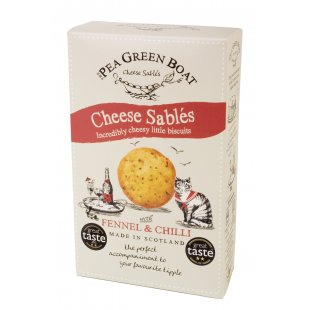 Cheese Sablés with Fennel & Chilli 80g