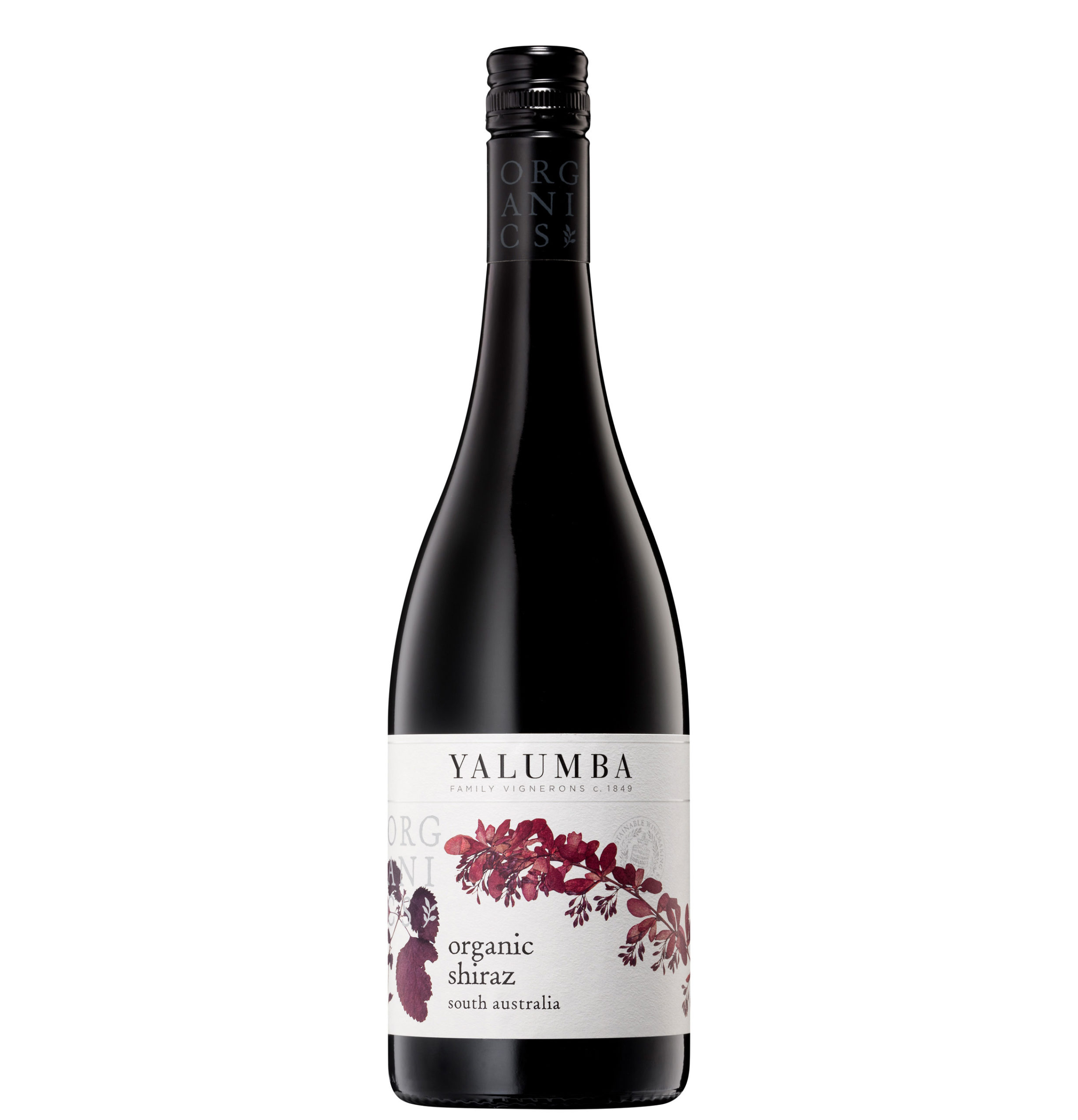 Yalumba Riverland Organic Shiraz 75cl