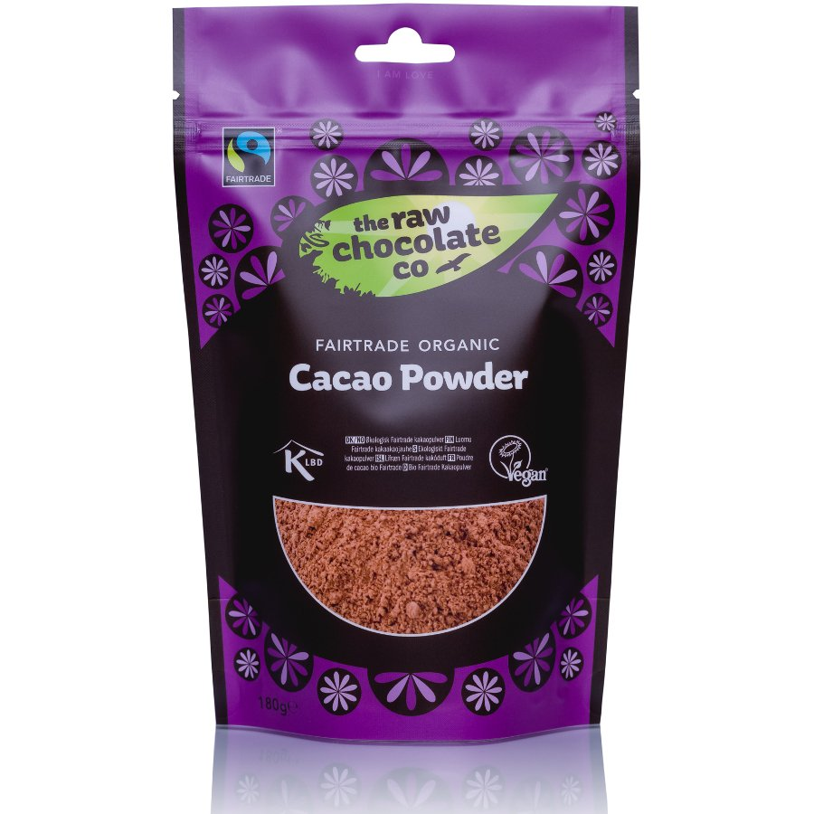 The Raw Chocolate Co Organic Cacao Powder 180g