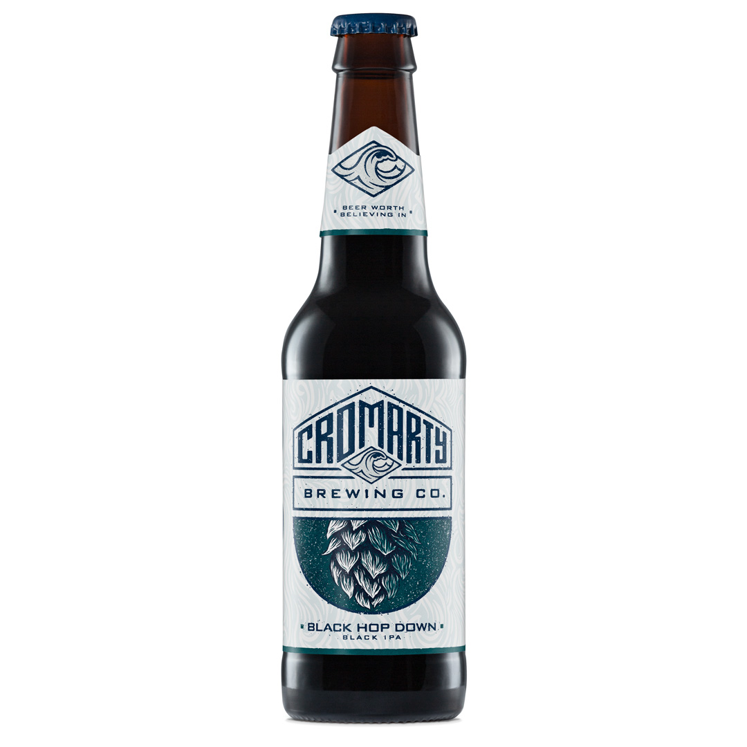 Cromarty Black Hop Down 330ml