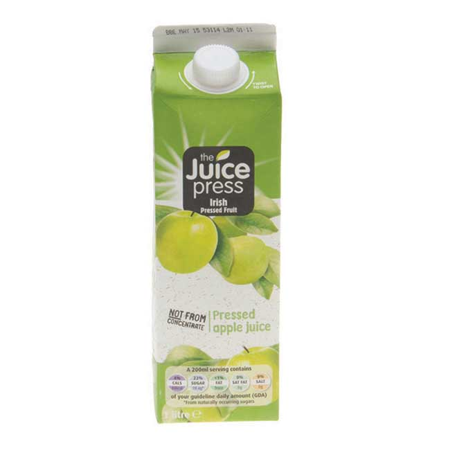 Juice Press Apple Juice 1L