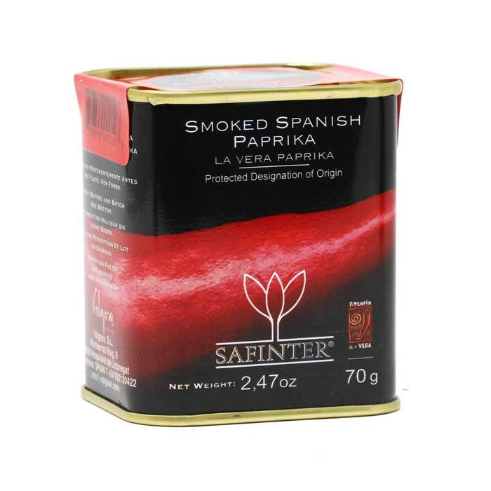 Safinter Smoked Spanish Paprika 70g
