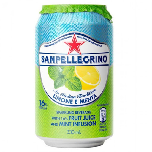 Sanpellegrino Lemon with Mint 330ml