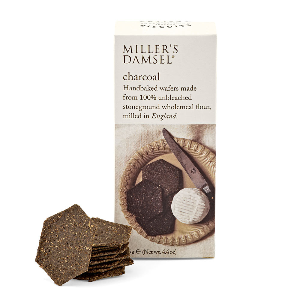 Miller\'s Damsel Charcoal Crackers 125g