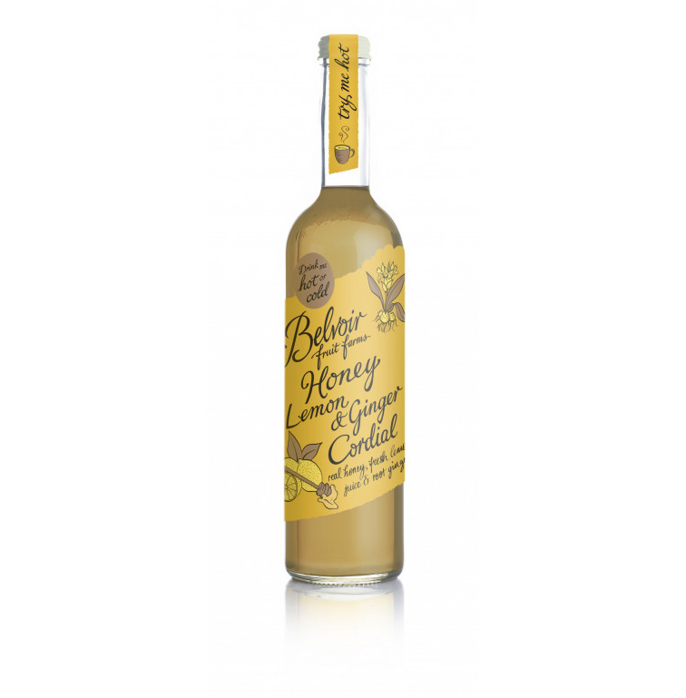 Belvoir Honey, Lemon & Ginger Cordial 50cl