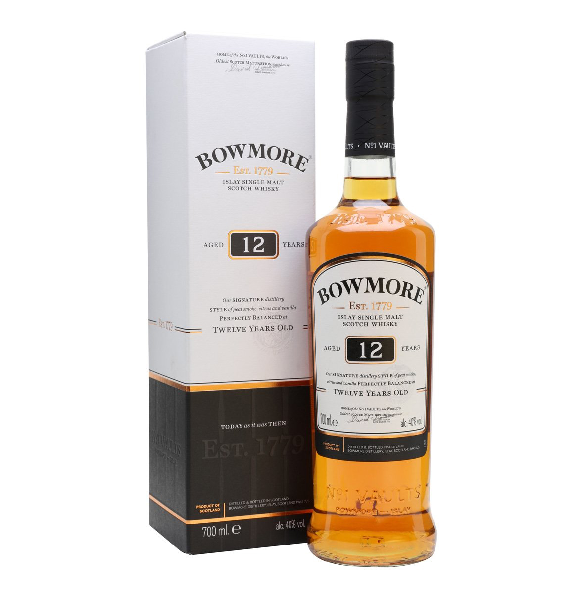 Bowmore 12yo Malt Whisky 70cl
