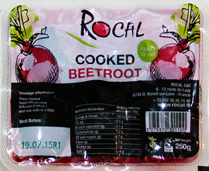 Cooked Beetroot 250G