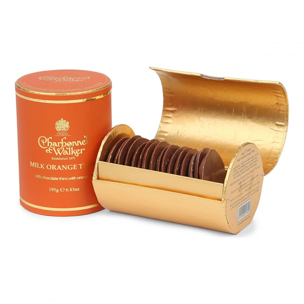 Charbonnel Et Walker Milk Orange Thins 200g