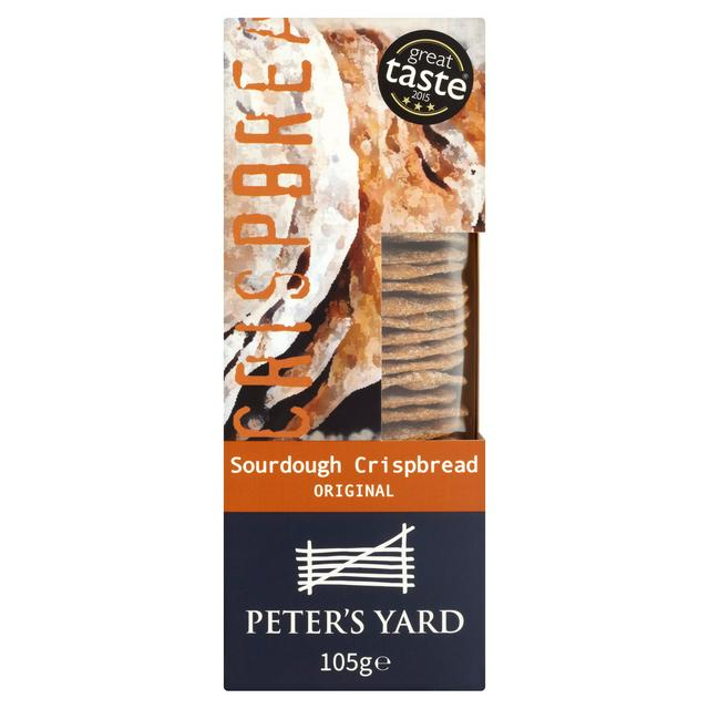 Peter\'s Yard Sourdough Crispbread Original 105g