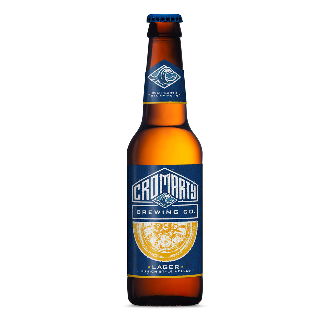 Cromarty Helles Lager 330ml
