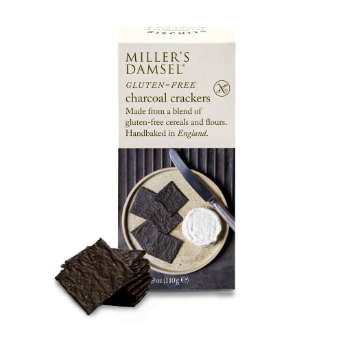 Miller's Damsel Gluten Free Charcoal Crackers 110g