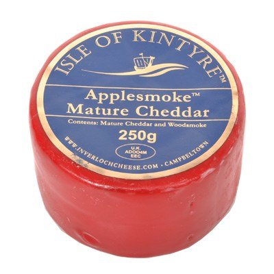 Isle Of Kintyre Applesmoke Mature Cheddar Truckle 200g
