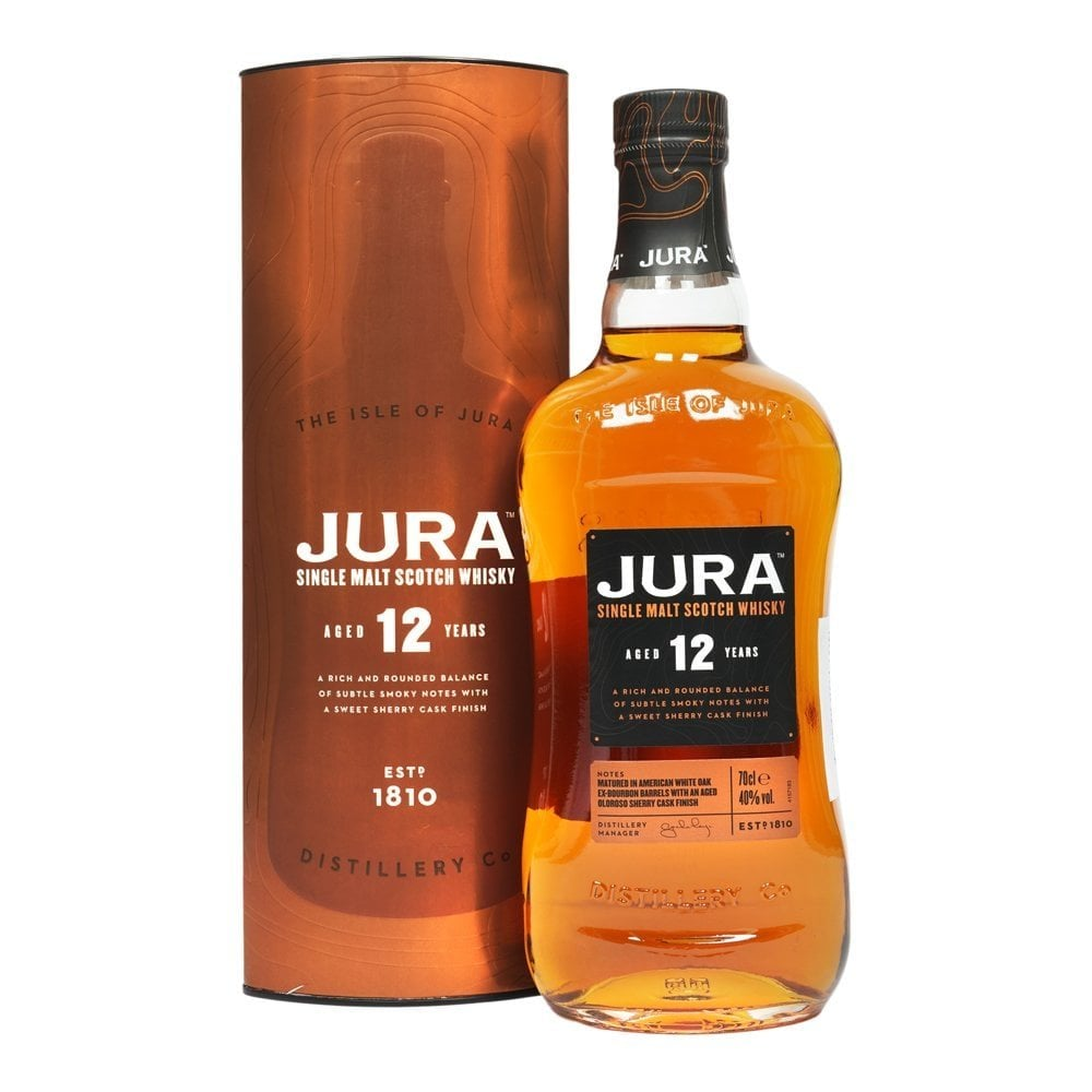 Jura Single Malt 12yo Single Malt 70cl