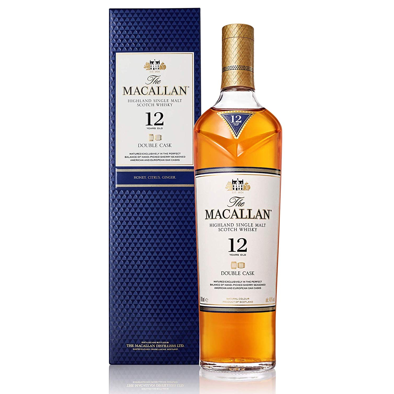 The Macallan Double Cask 12YO Single Malt 70cl