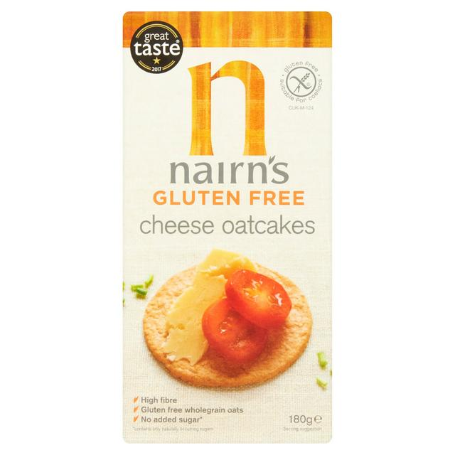 Nairn's G/F Cheese Oatcakes 200g
