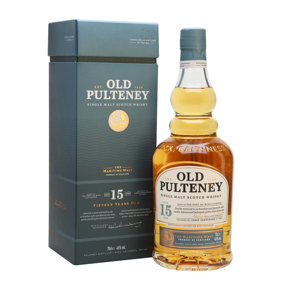 Old Pulteney 15YO Single Malt 70cl