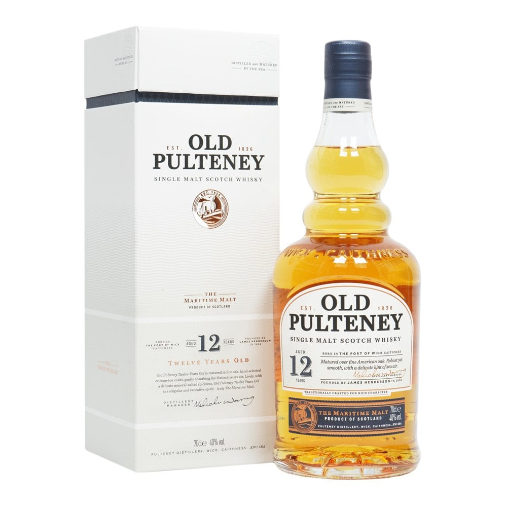 Old Pulteney 12YO Single Malt 70cl