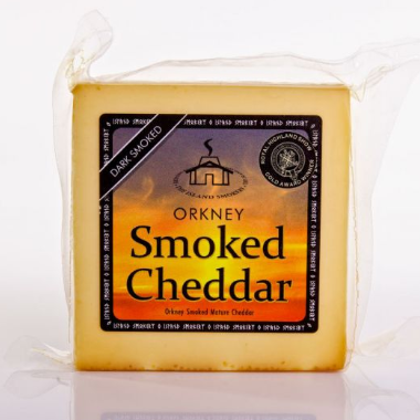 Orkney Smoked Cheddar (per 200g)