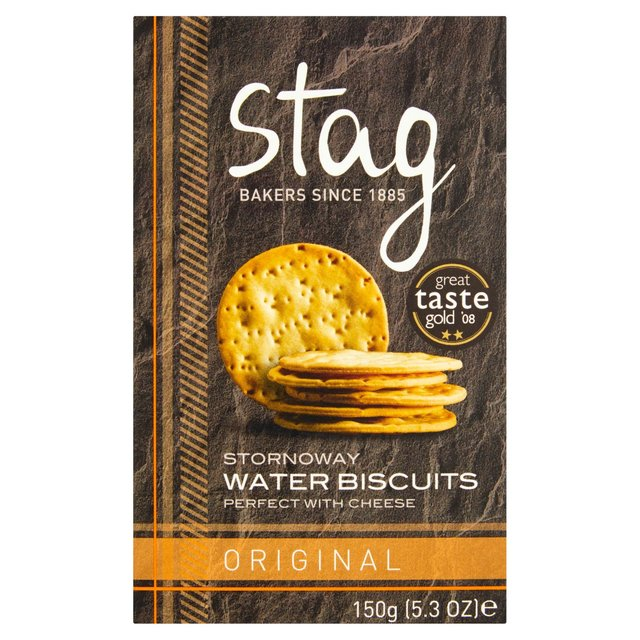 Stag Original Water Biscuits 150g