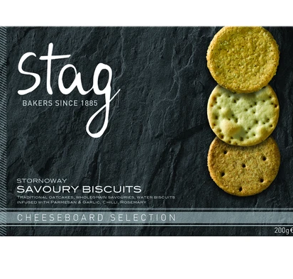 Stag Savoury Biscuit Selection 200g