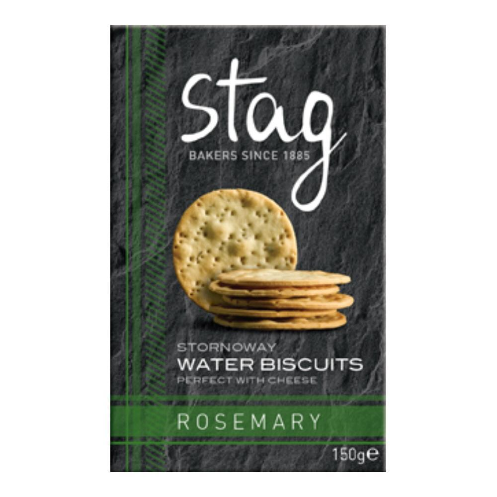 Stag Water Biscuits Rosemary 150g