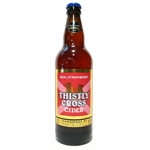 Thistly Cross Strawberry Cider 500ml