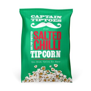 Captain Tiptoes Salted Chilli Tipcorn 25g