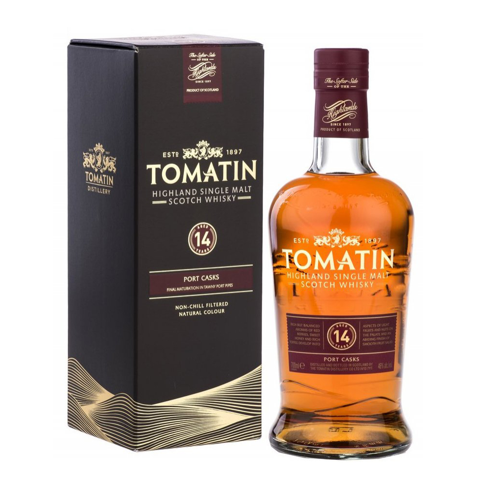 Tomatin 14yo Malt Port Finish 70cl