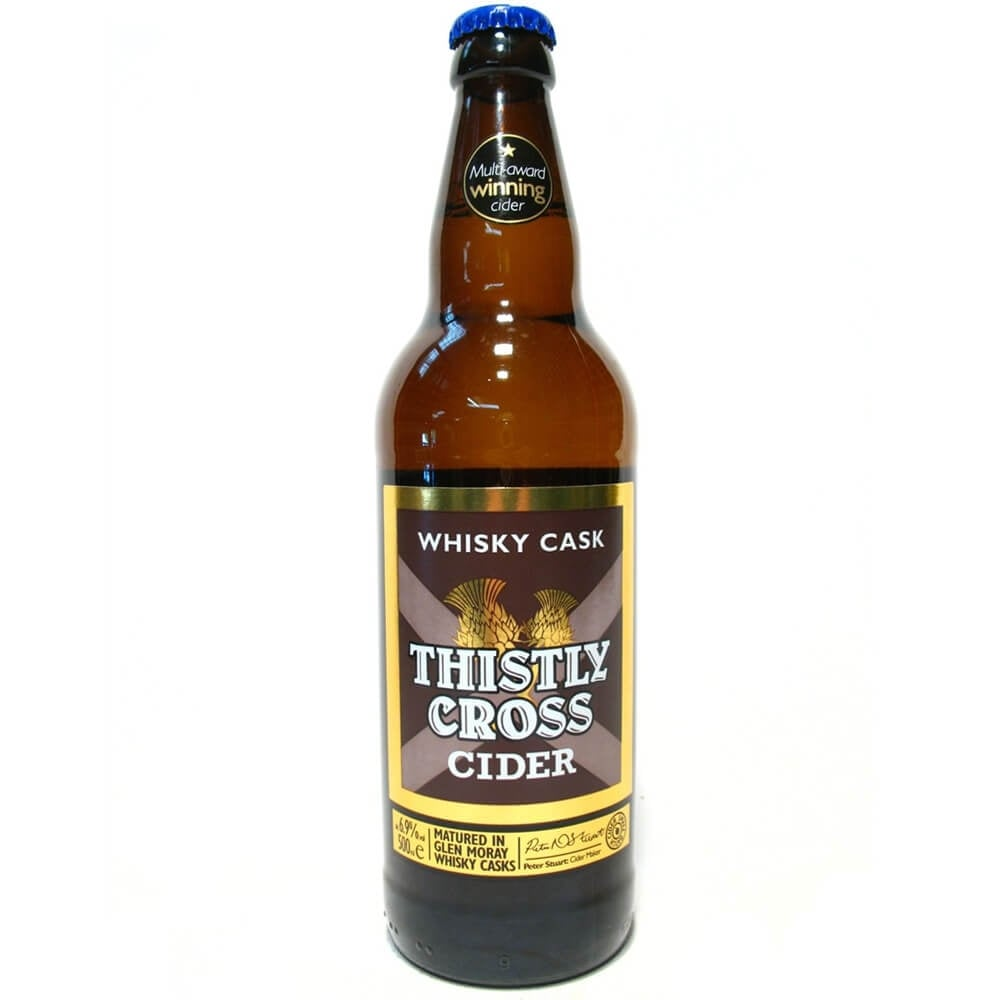Thistly Cross Whisky Cask Cider 330ml