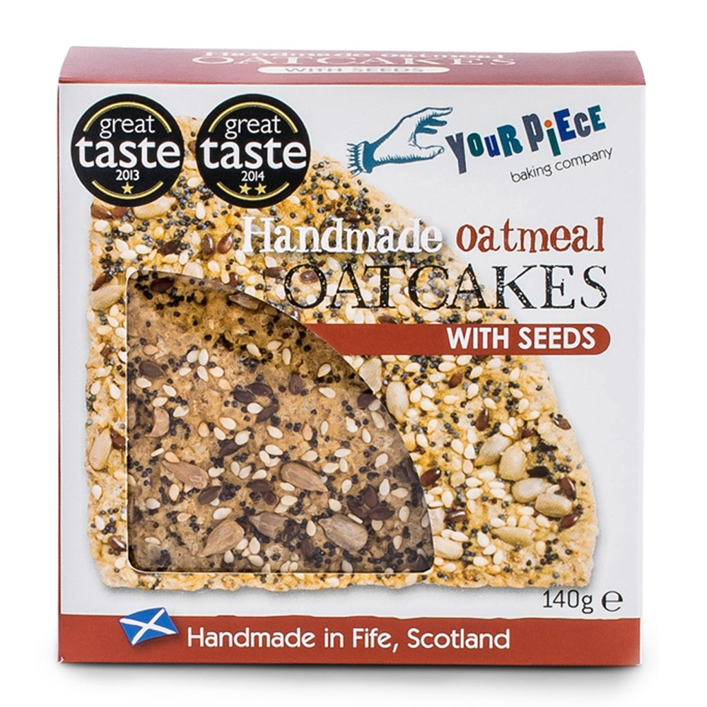 Your Piece Oatcakes  w seeds 140g