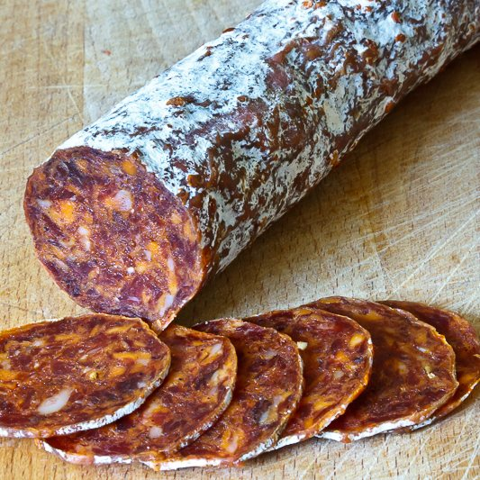 Spicy Chorizo Sliced 250g