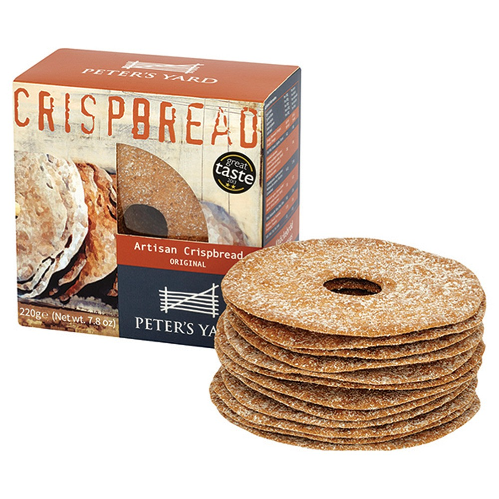 Peter's Yard Sourdough Crispbread Original 220g