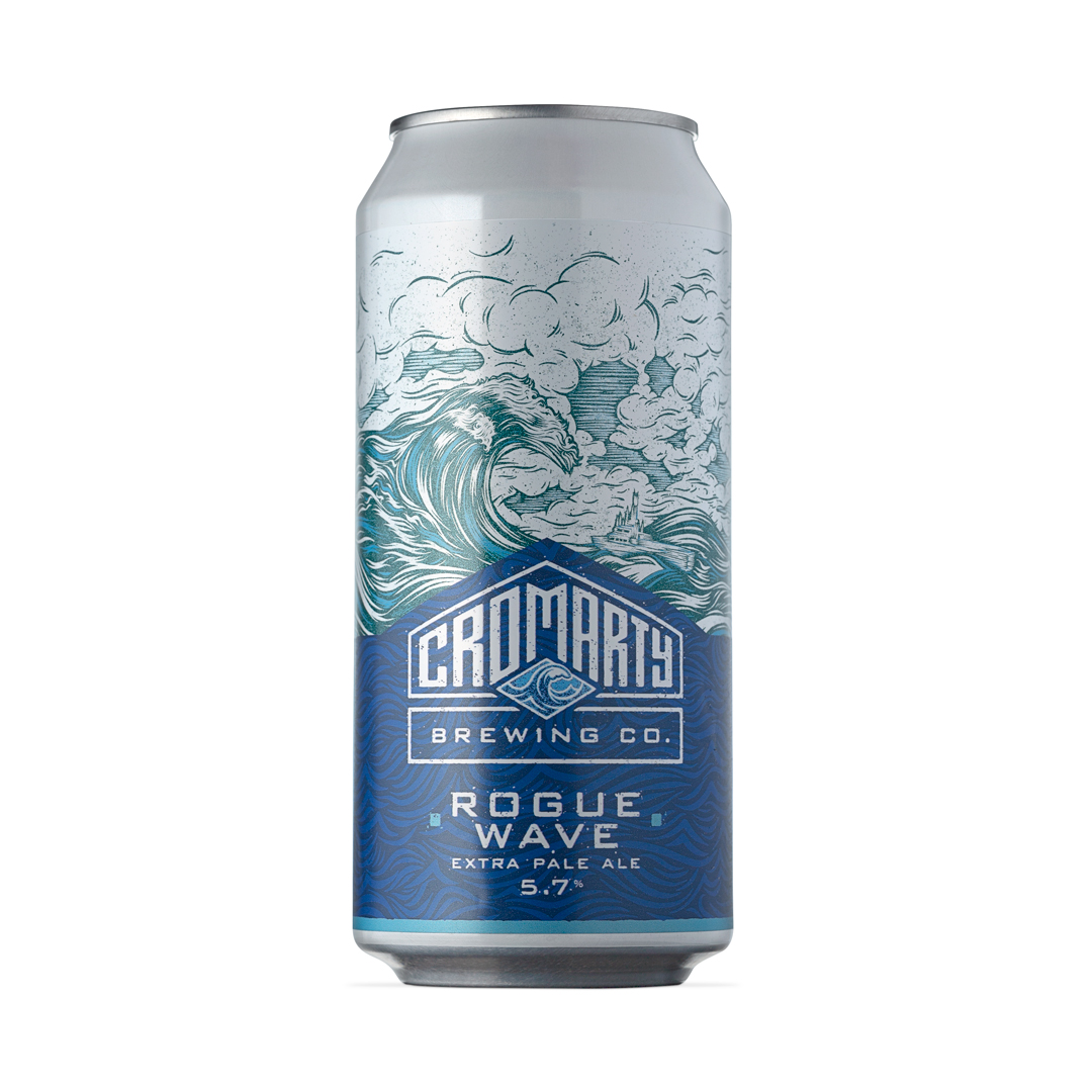 Cromarty Rogue Wave Can 440ml