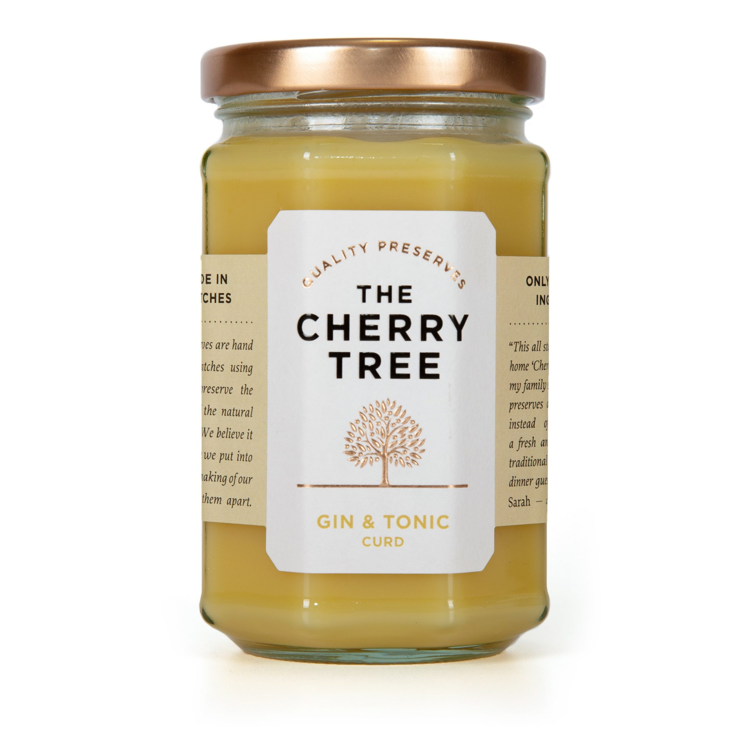 Cherry Tree Gin & Tonic Curd 310g
