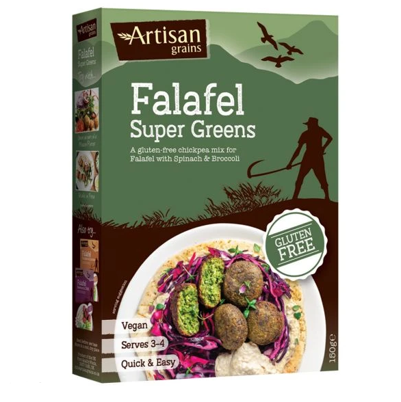 Artisan Grains Super Green Falafel 150g