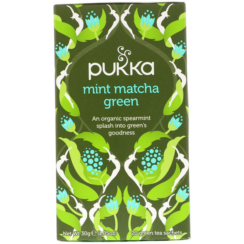 Pukka Mint Matcha Green Tea (20 sachets)