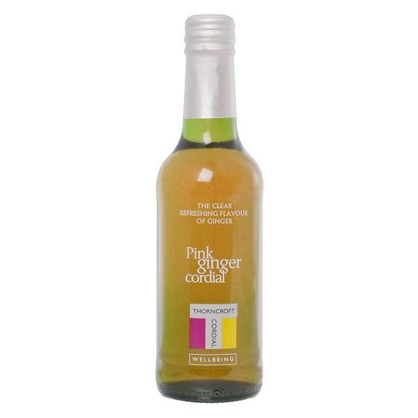 Thorncroft Pink Ginger Cordial 330mL