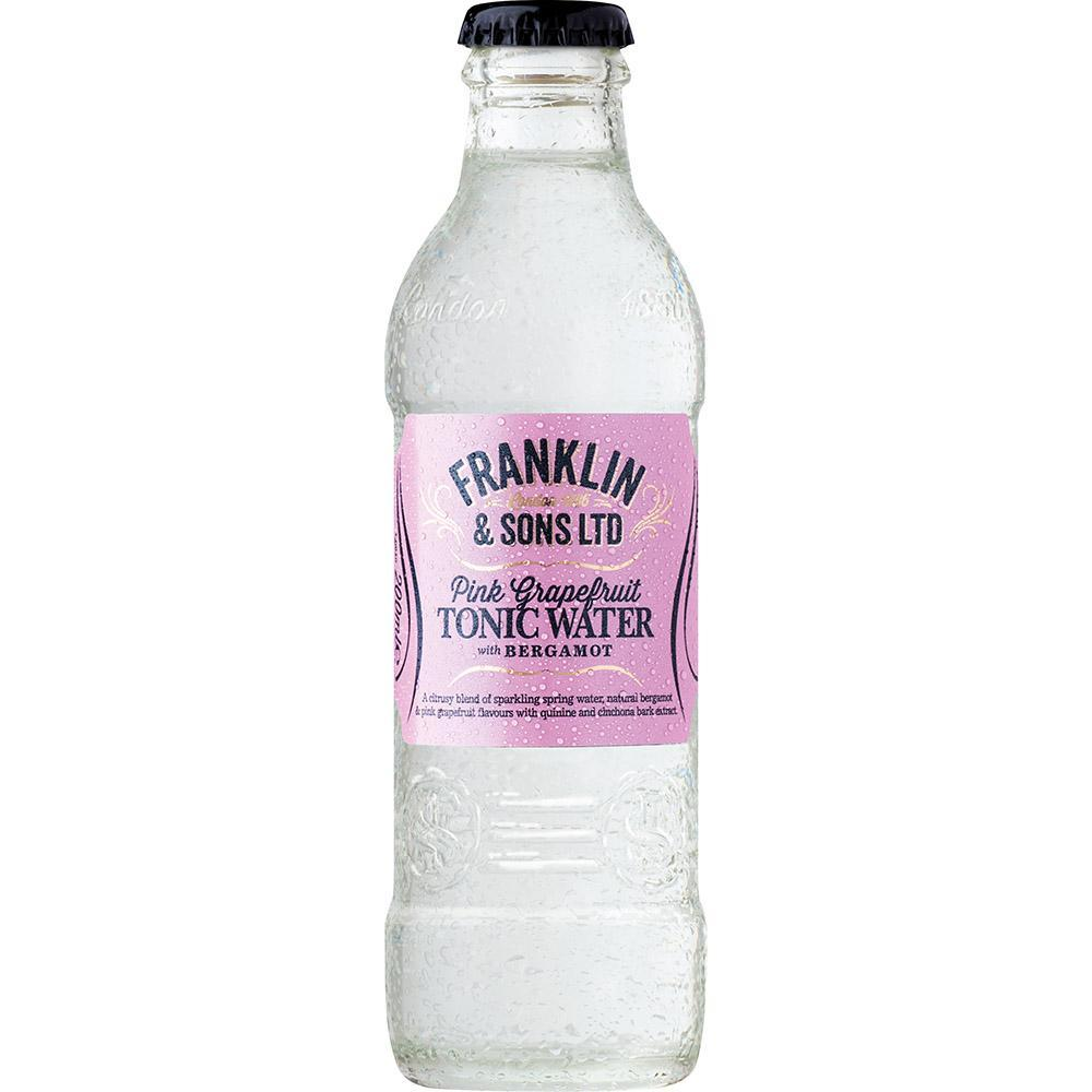 Franklin & Sons Pink Grapefruit Tonic Water with Bergamot 200mL