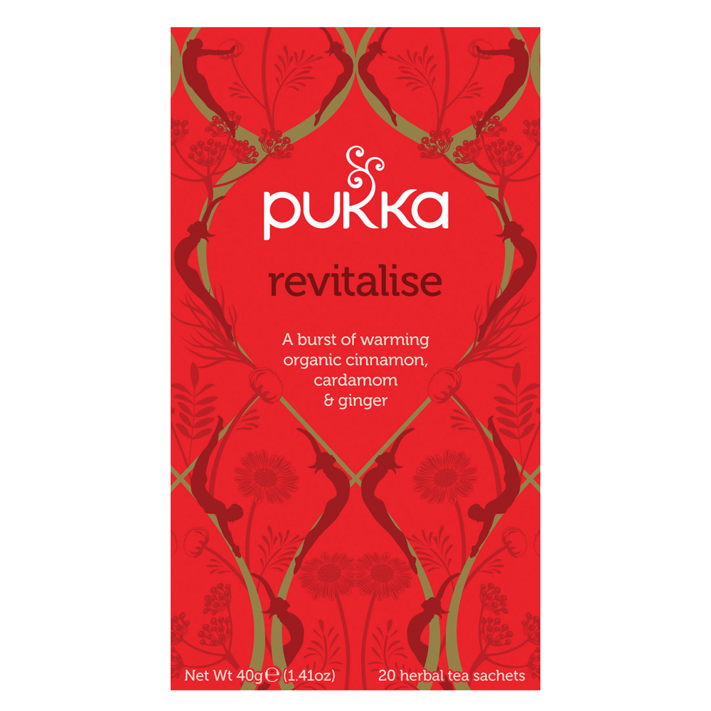 Pukka Revitalise Tea (20 sachets)
