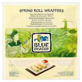 Blue Dragon Spring Rolls Wrappers 134g