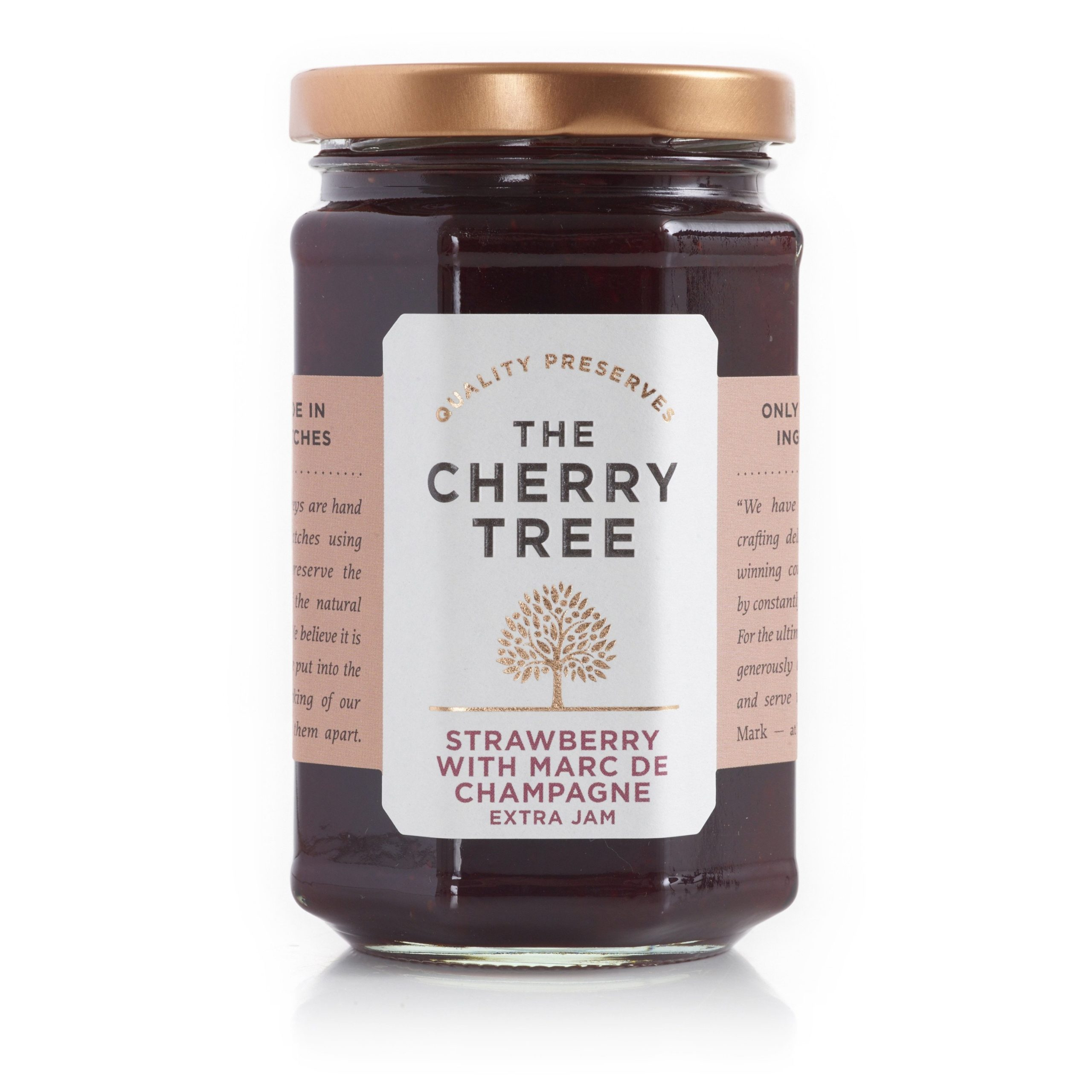 Cherry Tree Strawberry w/ Marc De Champagne Jam 340g