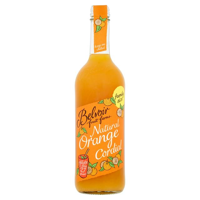 Belvoir Natural Orange Cordial 750mL