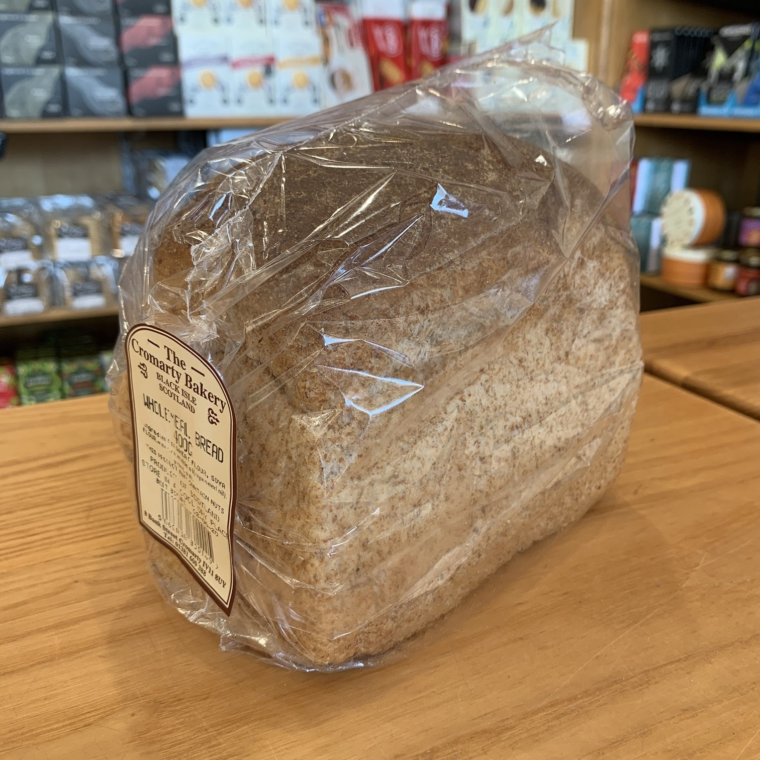 Cromarty Bakery Wholemeal Loaf 400g