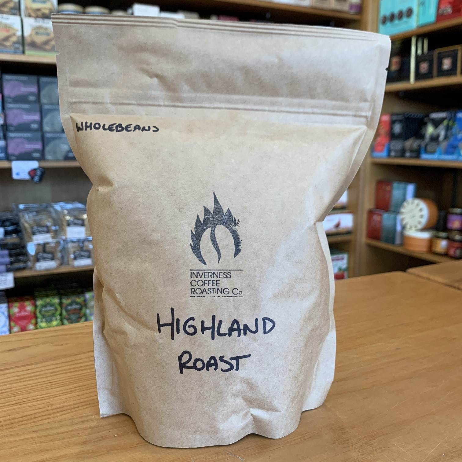 Inverness Coffee Highland Roast Whole Beans 250g