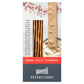 Peter\'s Yard Smoked Chilli Flatbreads 115g