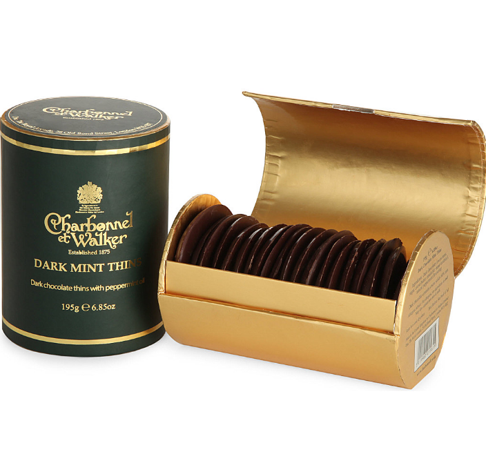 Charbonnel Et Walker Dark Mint Thins 200g