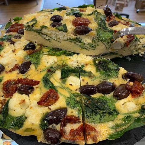Daily Frittata (portion)