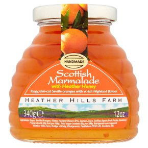 Heather Hills Marmalade with Heather Honey 340g